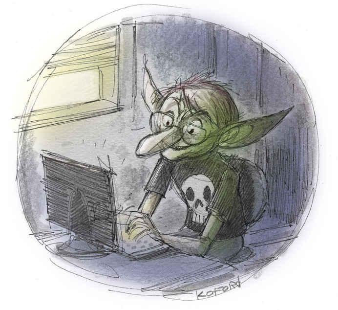 Troll en Social Media