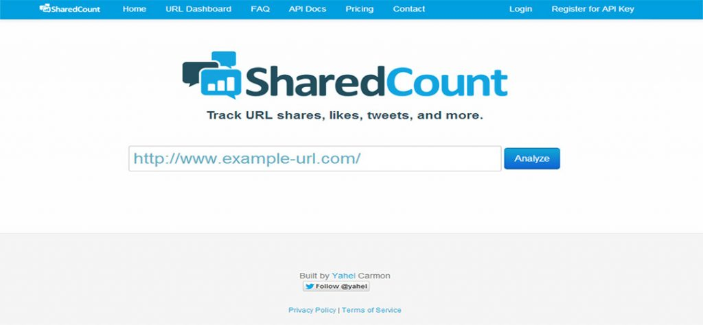sharecount- Analitica Social Media