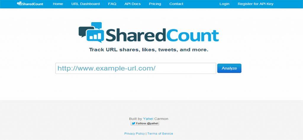 sharecount- Analitica Social Media