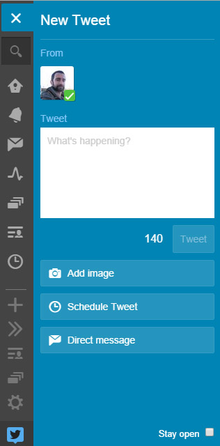 programar tweetdeck