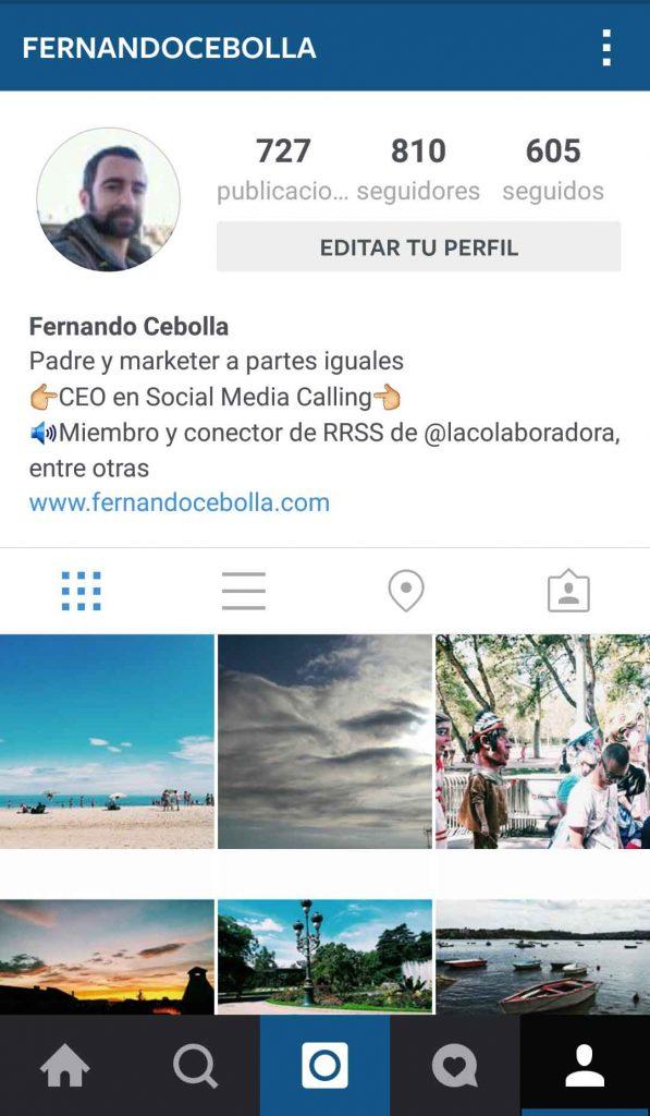 empezar instagram
