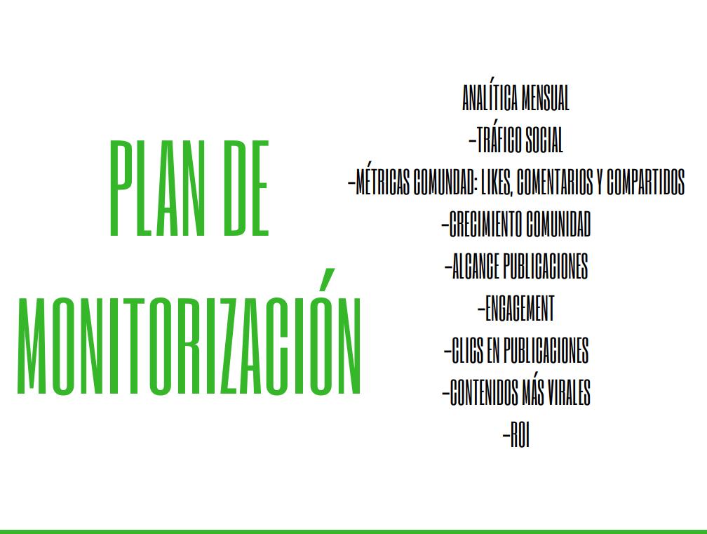 monitorizacion y analitica web propuesta social media