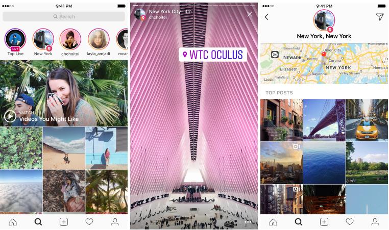 ubicacion hashtags instagram stories