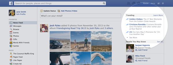 Tres novedades de Facebook que debes conocer