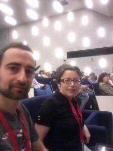Fernando Cebolla y Marta Serrano