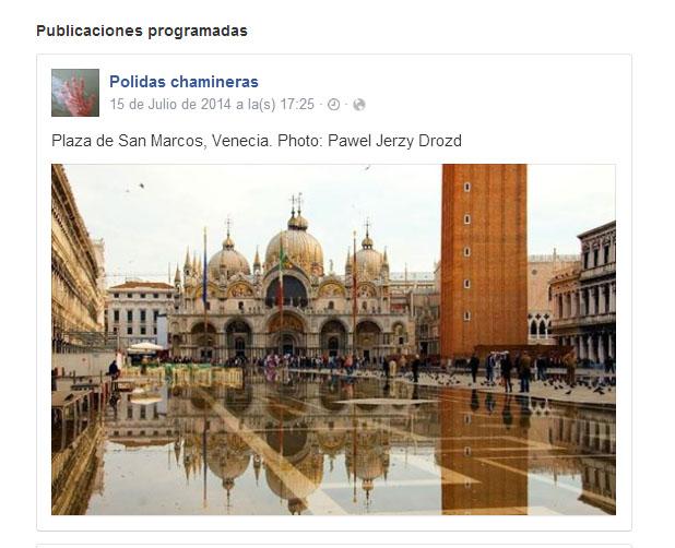 facebook actividad