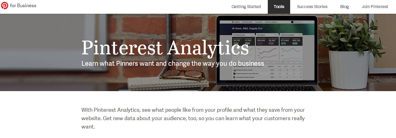 Pinterest renueva sus analíticas para business