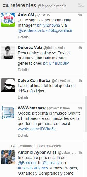 listas tweetdeck
