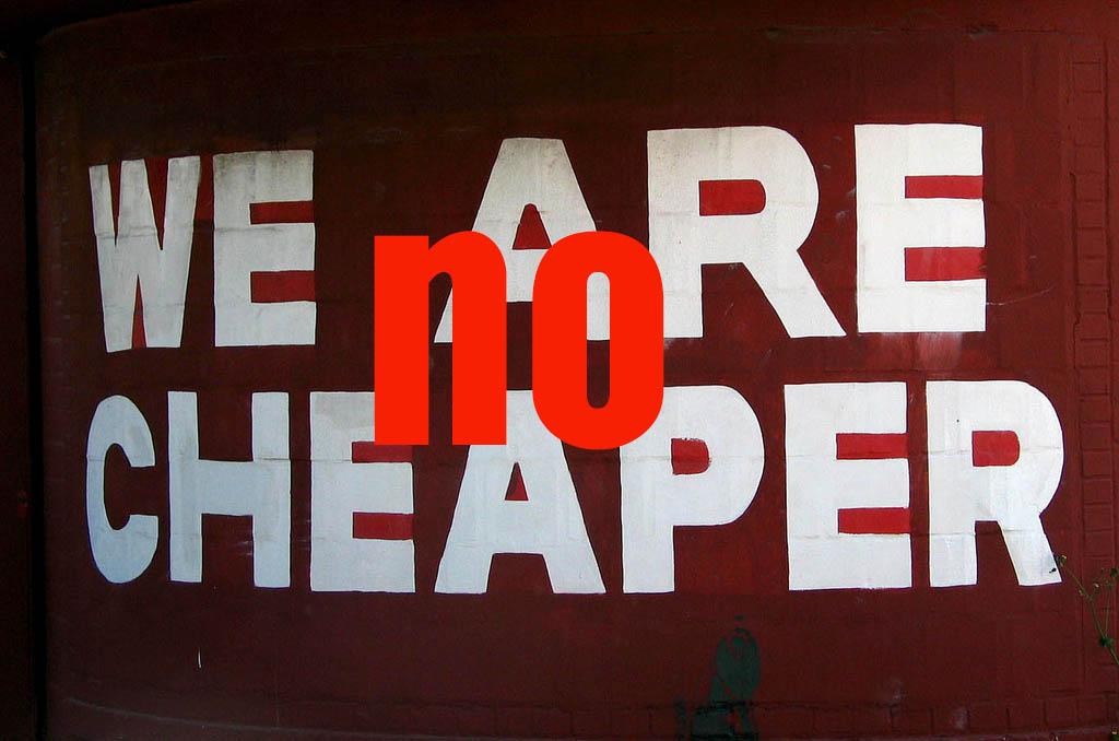 Lo barato sale caro, también en Social Media