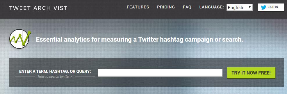 como monitorizar un hashtag en twitter