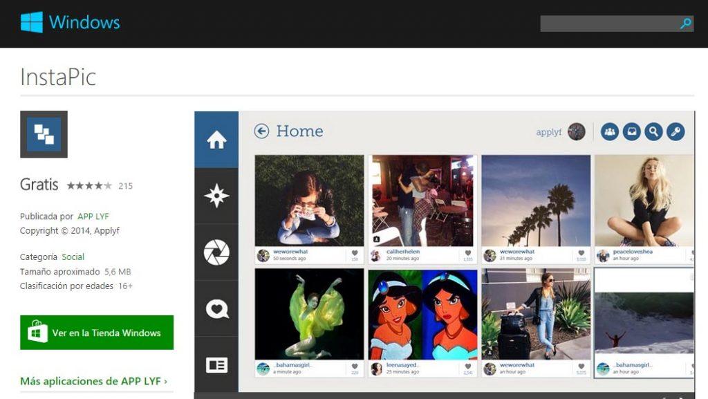 gestiona múltiples cuentas de Instagram con InstaPic