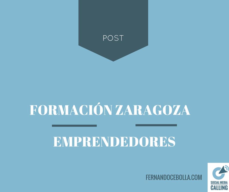 Formación para emprendedores en Zaragoza
