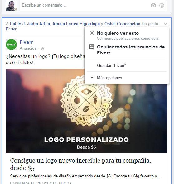 cambios algoritmo facebook enero 2015