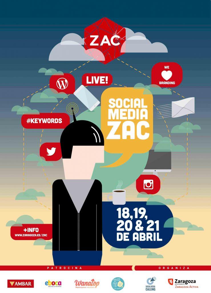 smZAC formación gratuita Social Media en Zaragoza Activa