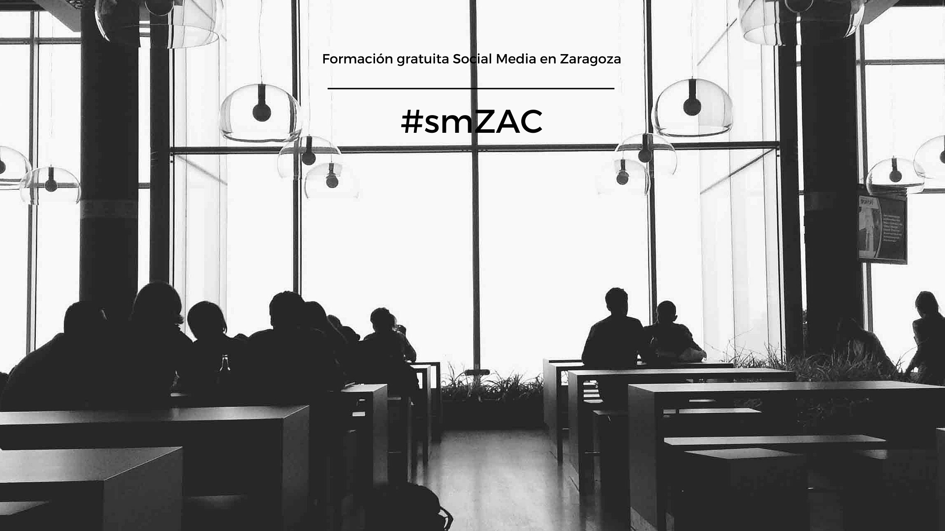 smZAC: formación gratuita Social Media en Zaragoza