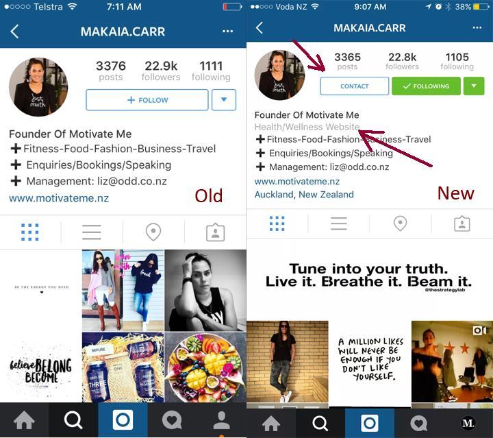 instagram marcas empresas