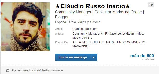 linkedin contactos profesionales LinkedIn como un profesional