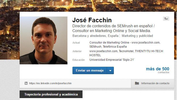 LinkedIn es networking LinkedIn como un profesional