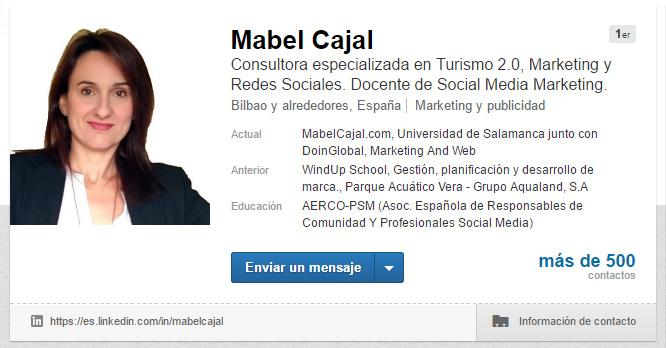 Participa activamente en LinkedIn LinkedIn como un profesional