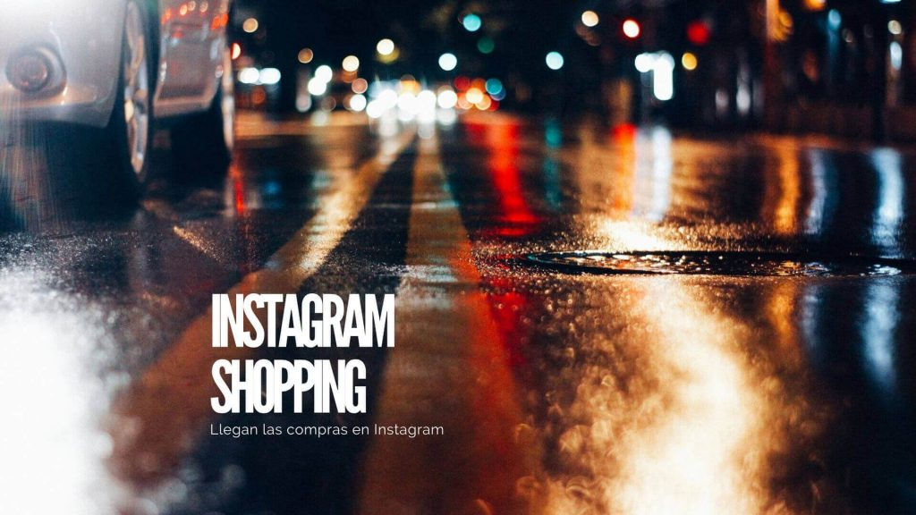 Instagram Shopping: comprar en Instagram
