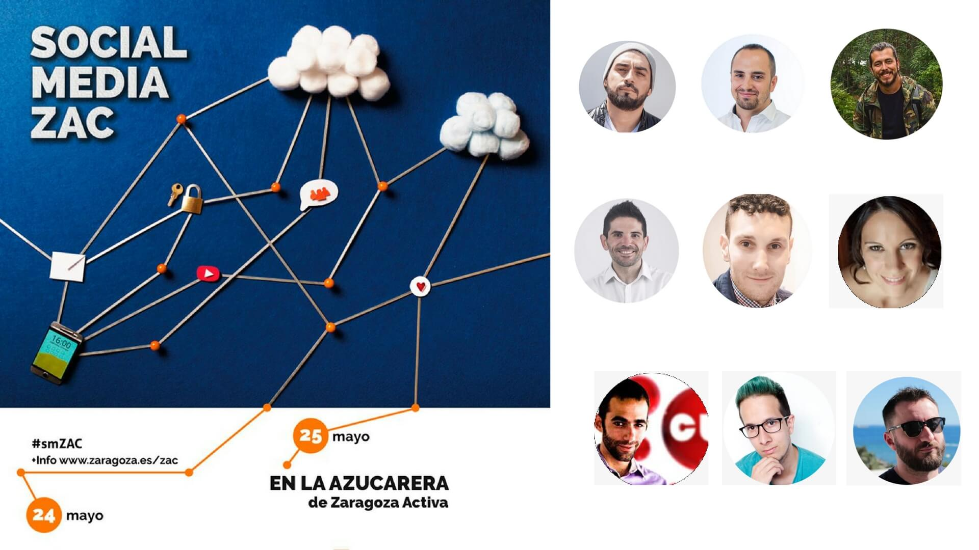 Aprende Social Media y Marketing con el Congreso Gratuito Social Media ZAC Zaragoza