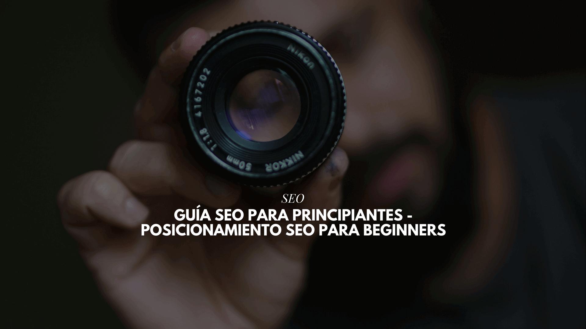 Guía SEO para principiantes – Posicionamiento SEO para beginners