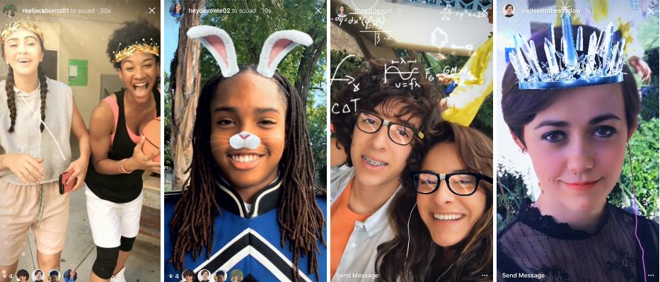 filtros mascaras instagram
