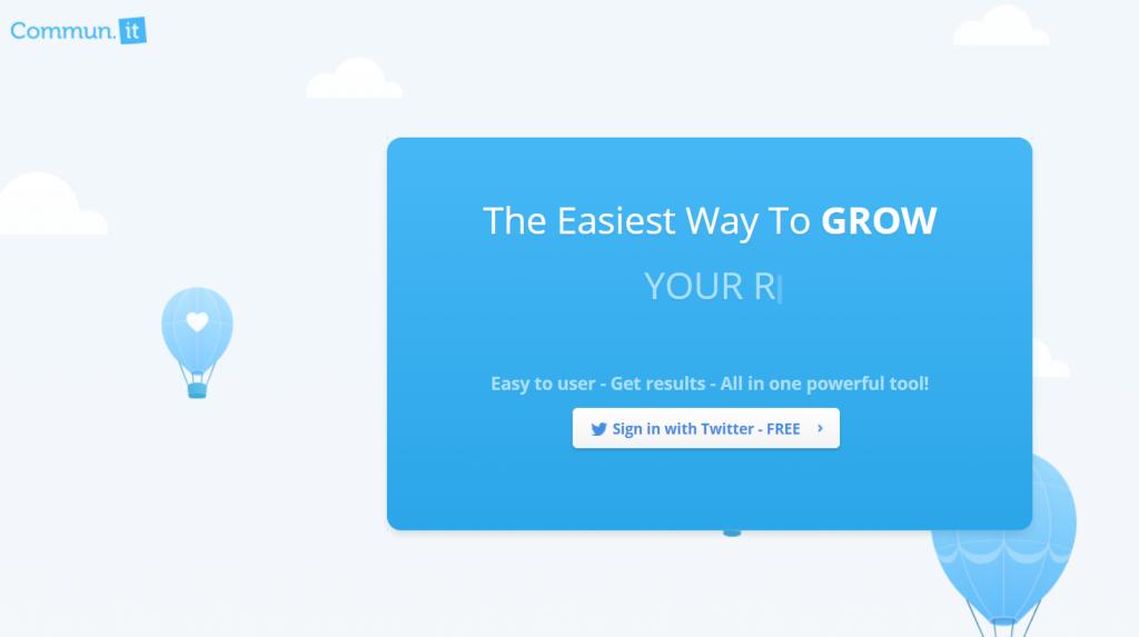 communit herramientas para twitter