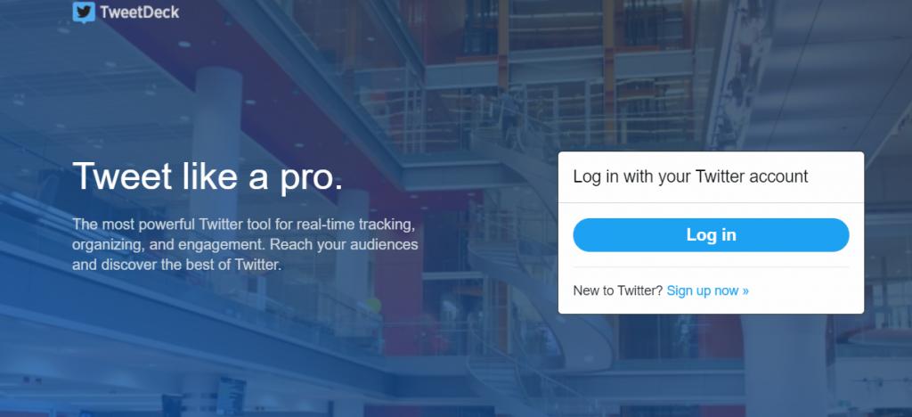 tweetdeck herramientas para twitter