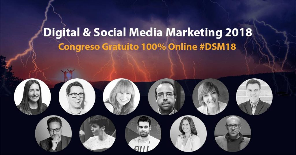 digital social marketing 18 #dsm18 ponentes 1