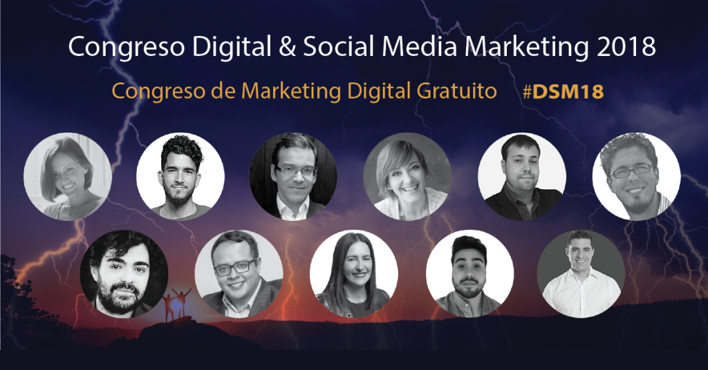 digital social marketing 18 #dsm18 ponentes 2