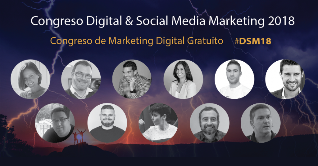 digital social marketing 18 #dsm18 ponentes 3
