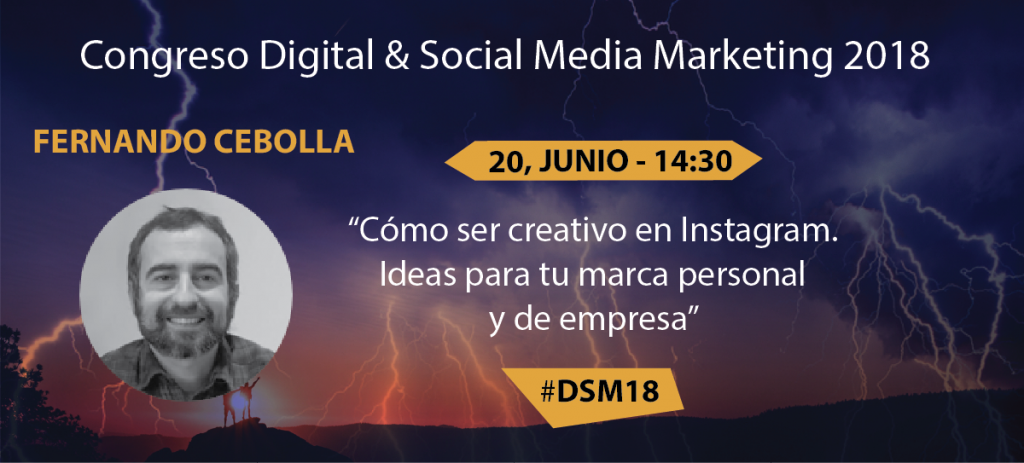 digital social marketing 18 #dsm18 ponentes fernando cebolla