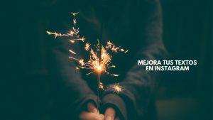 Cómo escribir buenos textos en pies de foto en Instagram