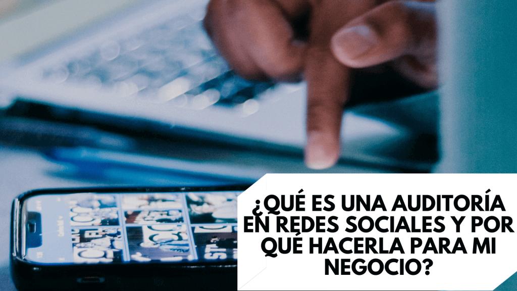 auditoria en redes sociales